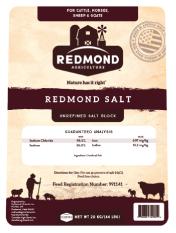 Canadian Redmond  Salt Block