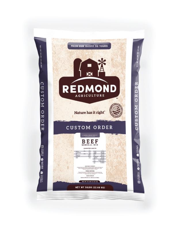 Redmond Beef Mineral Mix