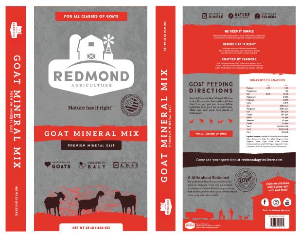 Goat Mineral Mix 25lb Product