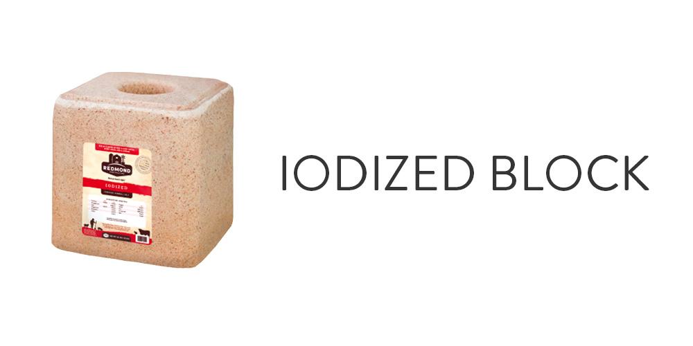 Iodized Block
