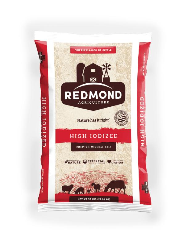Redmond High Iodized Premium Mineral Salt Bag
