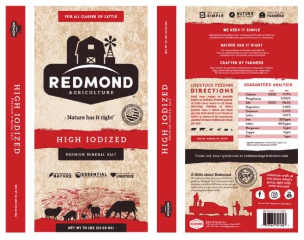 Redmond High Iodized