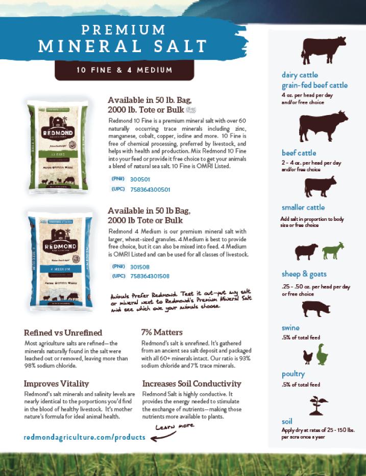 Redmond Salt Info