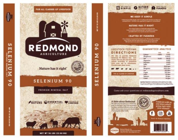 Redmond Selenium 90