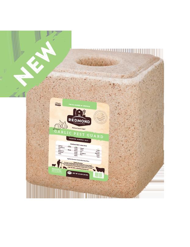 Redmond natural block with garlic