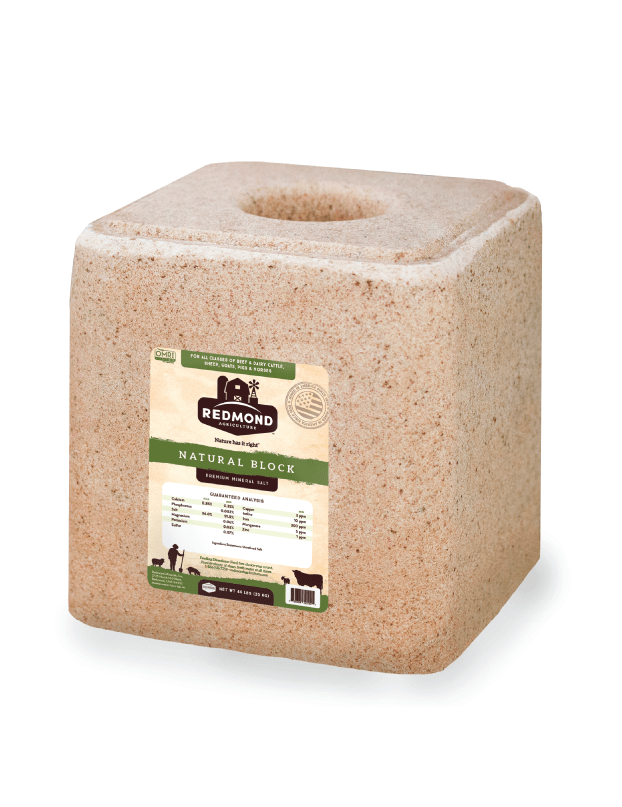 44 lb Natural Block