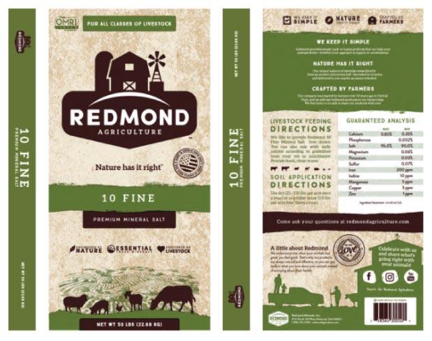 Redmond 10 Fine Premium Mineral Salt