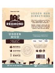 Redmond Udder Mud Label
