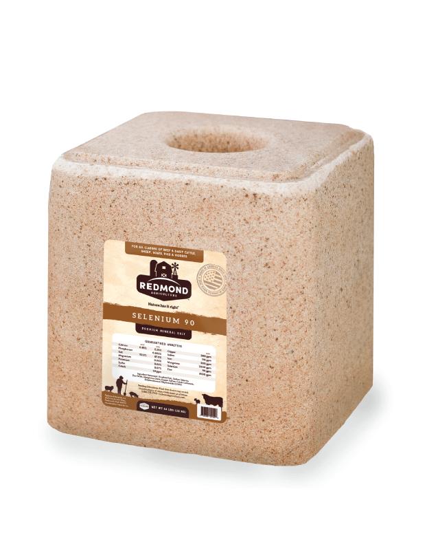 Redmond Selenium 90  Premium Mineral Salt Block