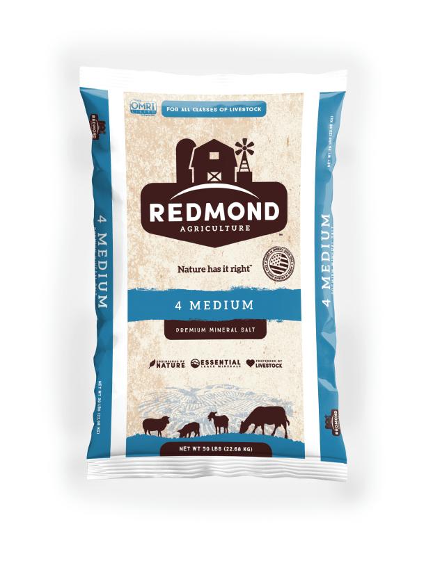 Redmond 4 Medium  Premium Mineral Salt